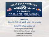 Pikes Peak Outdoor RV Storage